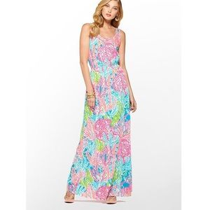 Lilly Pulitzer HOLY GRAIL LET'S CHA CHA Maxi